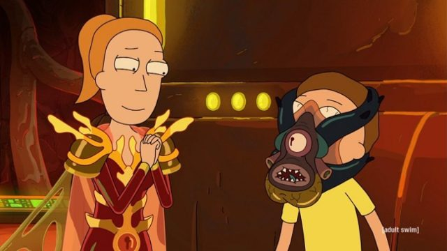 rick and morty - Rick and Morty saison 4 épisodes 7 à 10 rick and morty promortyus