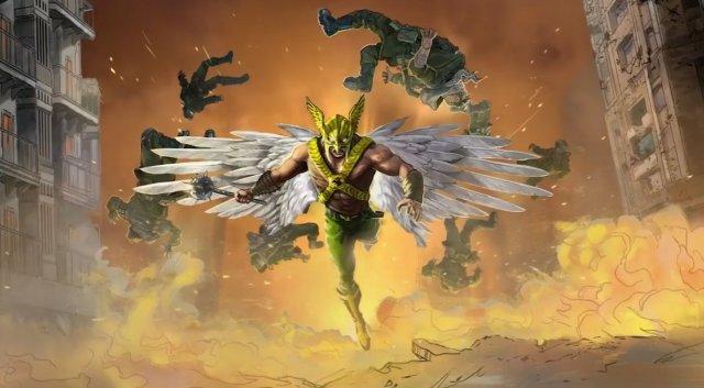aquaman - The Batman, Black Adam, Wonder Woman, The Flash, Suicide Squad... Les images de DC Fandome hawkman black adam