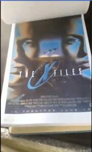 x-files - X-Files : des concept arts de l'affiche du premier film dévoilés Concept Art FTF 5