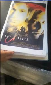 x-files - X-Files : des concept arts de l'affiche du premier film dévoilés Concept Art FTF 6
