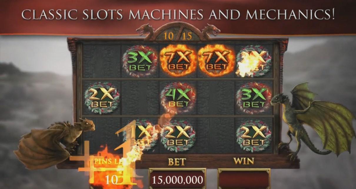 - 3 machines à sous inspirées de films HiRes GoT