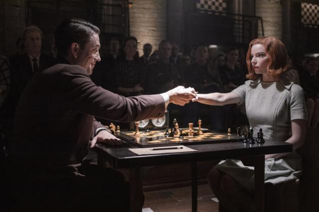 netflix - Le Jeu de la Dame, la série Netflix pour les fans d'échecs Lejeudeladame netflix