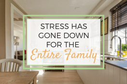 Read about one small thing that one mom did that helped her lower stress levels for the entire family. Great ideas if you are wanting to get into a better routine and live a happier life.
