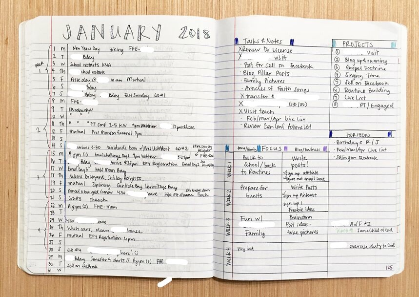 "<img class=""size-full wp-image-524"" src=""https://smallthingsovertime.com/wp-content/uploads/2018/04/img_2119.jpg"" alt=""Using a Bullet Journal to Change Your Life - monthly log 3"