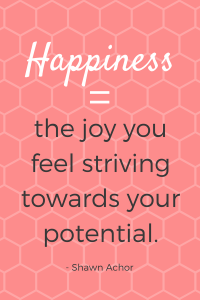 Using a Bullet Journal to get the right things done happiness quote