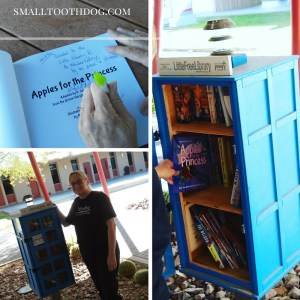 pictures of the little free library in yuma arizona