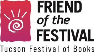 logo for tucson festival of books friend of the festiva