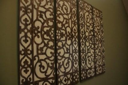 http://lemontreecreations.blogspot.com/2011/05/doormat-wall-art.html