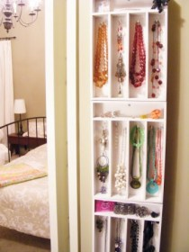 Silverware Holders Used as Jewelry Holder