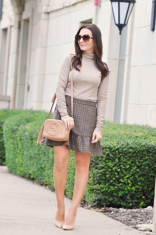 Houndstooth Skirt 3 Ways