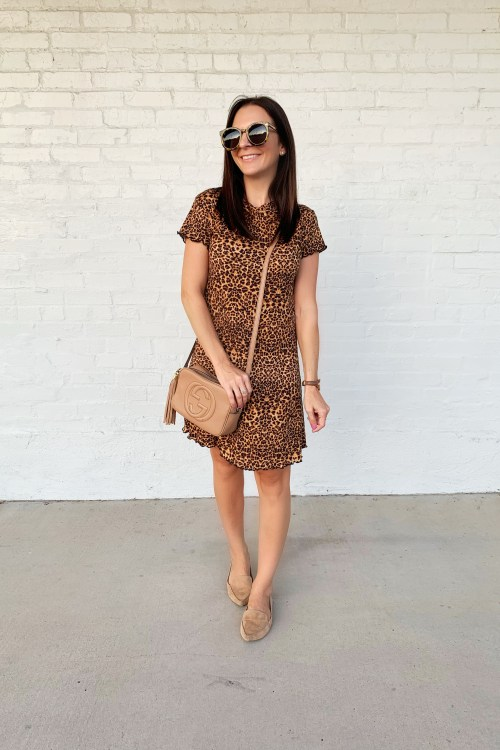 Leopard Print Dress Styled 5 Ways