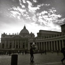Vatican in black & white