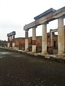 The main square of Pompeii