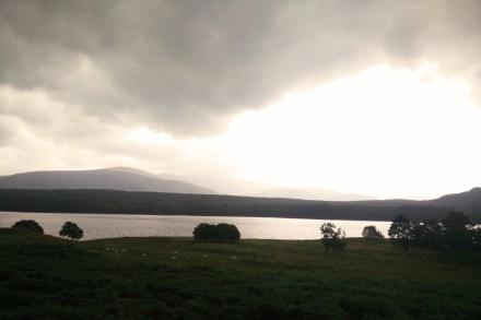 Somewhere between Edinburgh and Inverness