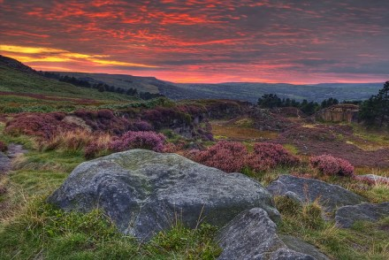 Ilkley Moor at Dusk | Image by James Whitesmith | CC-BY-ND 2.0
