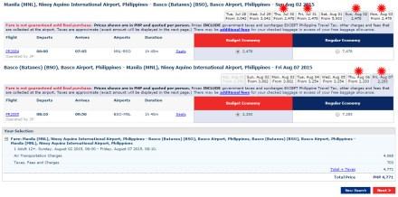 Manila-Basco August2-6