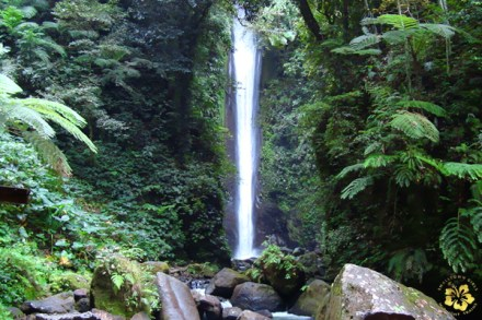 The majestic Casaroro Falls
