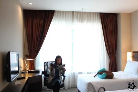 Our room at the Furama Bukit Bintang