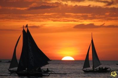 A Boracay sunset