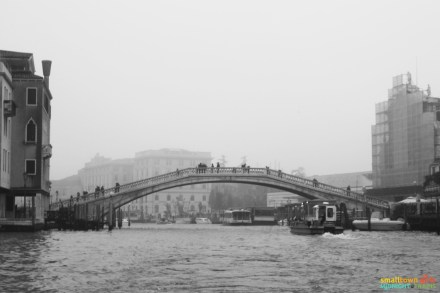 Venice bridge in the off season