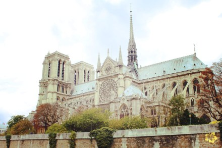 Entrance to the gorgeous Notre Dame cathedral is free