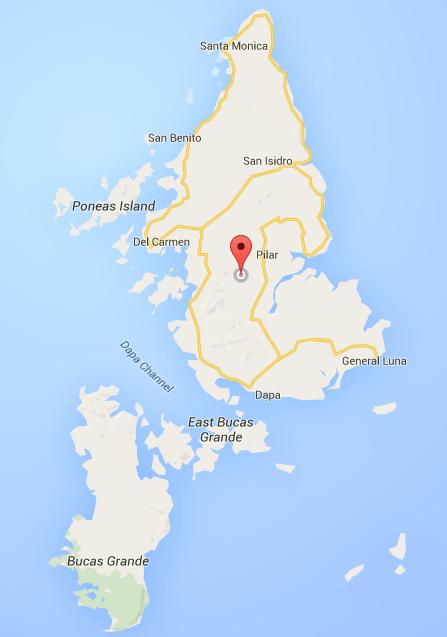 Map_Siargao and Bucas Grande