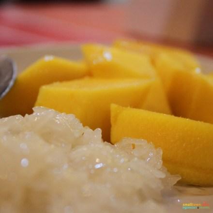 SGMT Thailand Bangkok 2012 Food Sticky Rice Mango