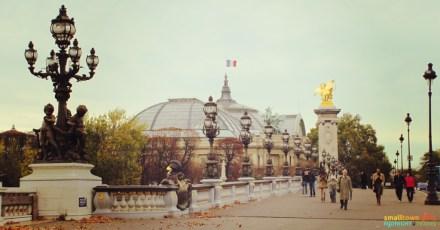 SGMT France Paris Bridge Street Lamp posts