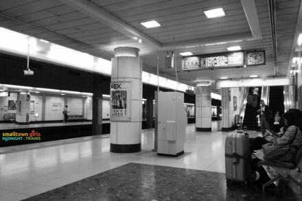 At the Narita Express platform