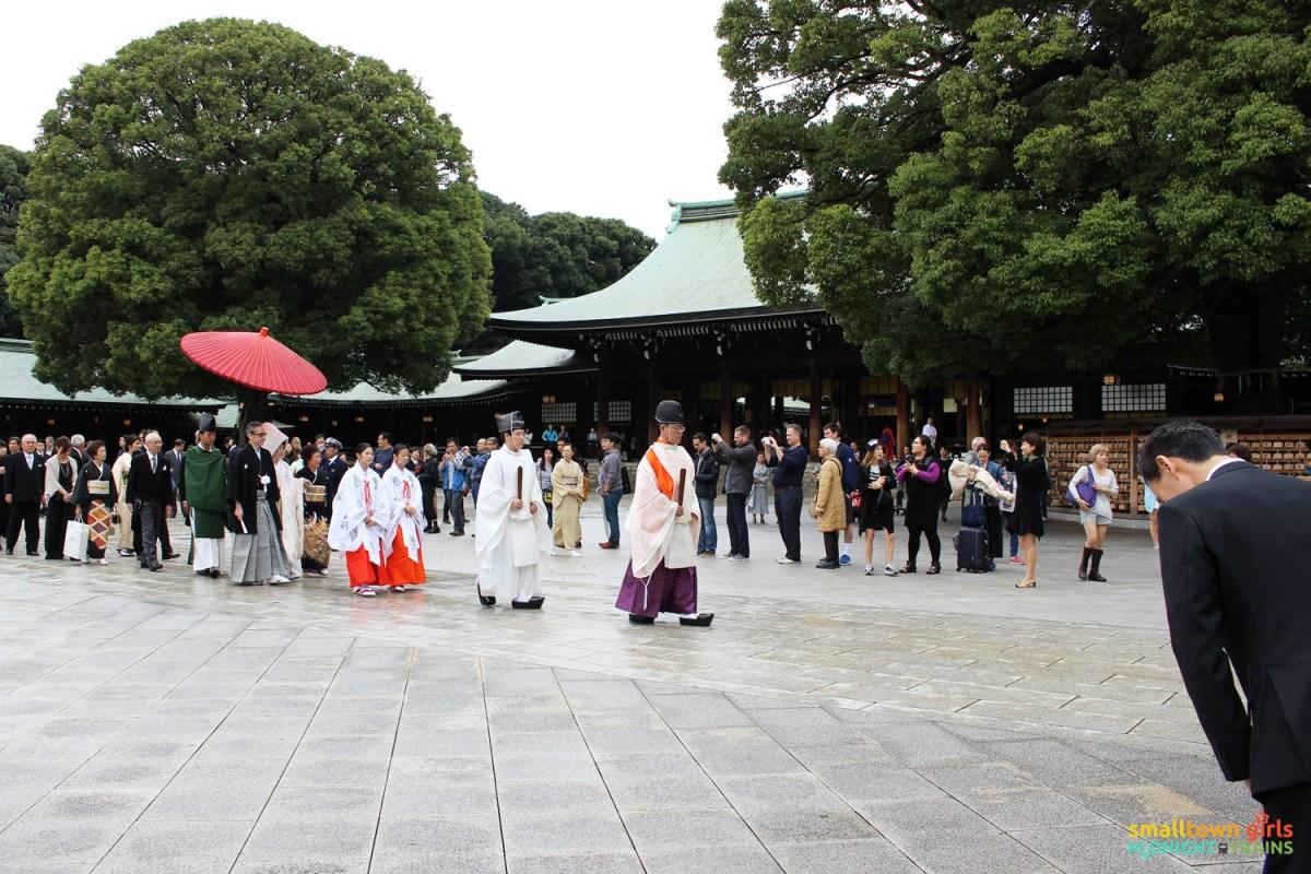 SGMT Japan Tokyo Meiji Shrine 05 wedding procession