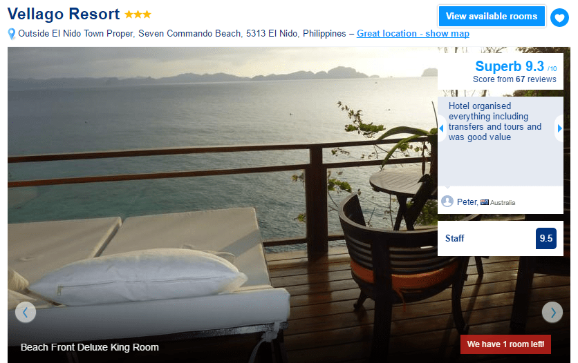 Where to stay in El Nido - Vellago Resort