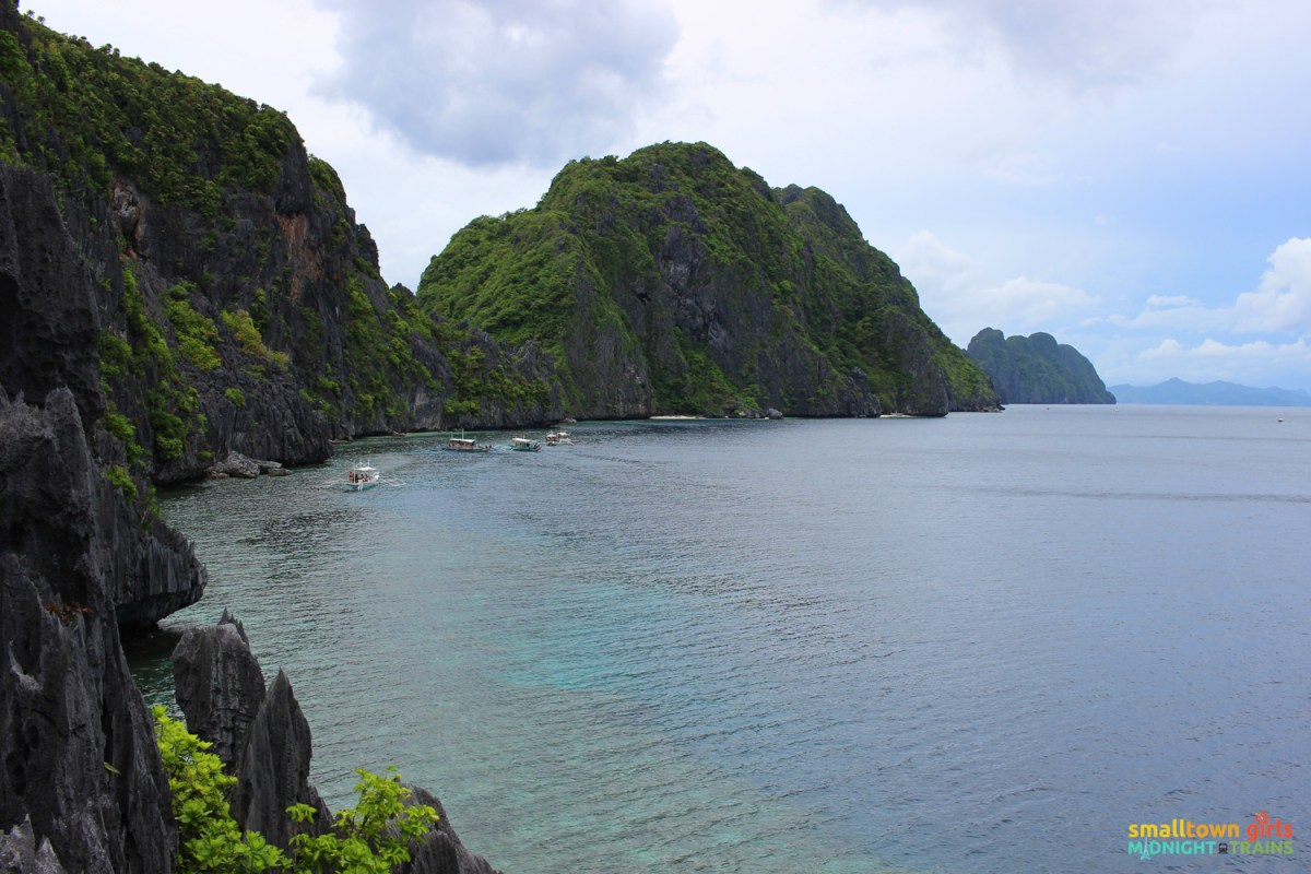 El Nido paradise combo tour A and C -- The view from Matinloc shrine
