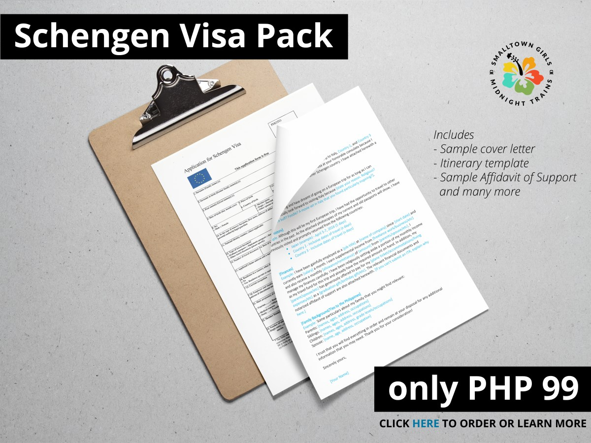Sample Cover Letter For Schengen Visa Application At The French Embassy