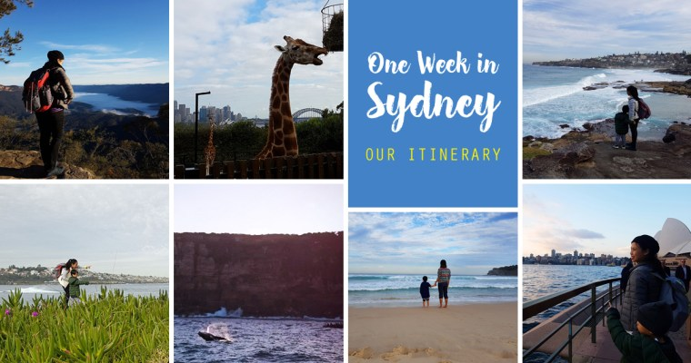 Our Family's One-Week Itinerary in Sydney, Australia