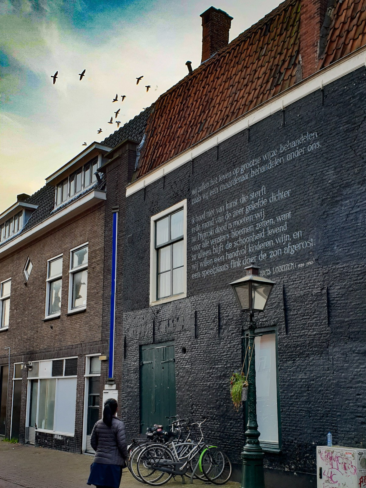 SGMT | Leiden | Wall poems