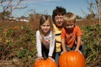 Pumpkin Patch with Grandma