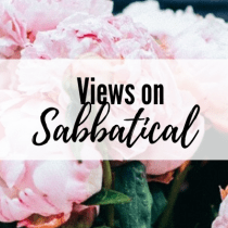Views on Sabbatical