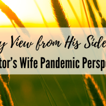 My View from His Side:  A Pastor's Wife Pandemic Perspective