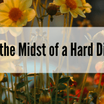 Hope in the Midst of a Hard Diagnosis