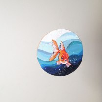 Annex Suspended - Goldfish Wall hanging