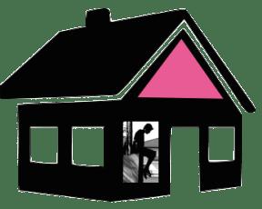 smalltown logo house only alpha