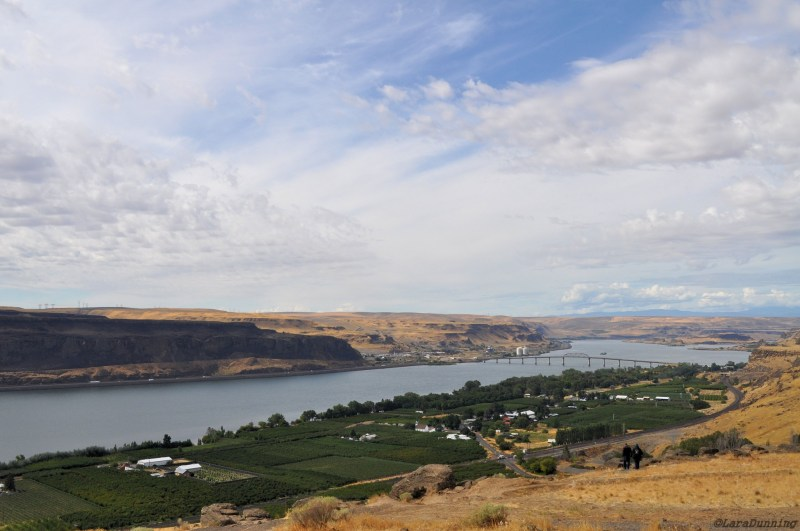 Maryhill, Washington and Columbia River