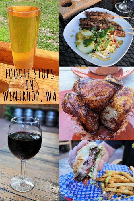 foodie stops wintrhop