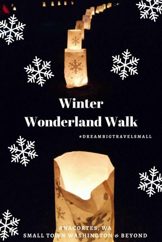 Winter Wonderland Walk in Anacortes.