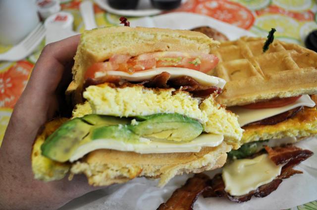 Blouevard Waffle