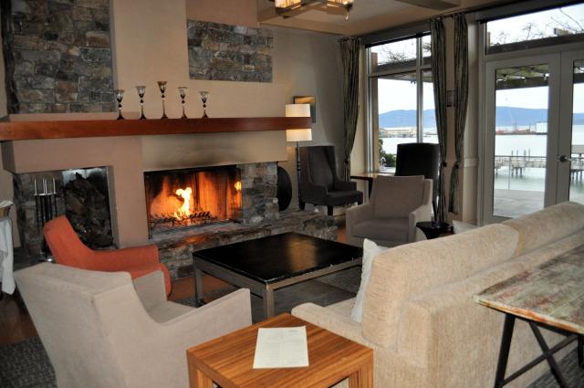 Living room at The Chrysalis Inn & Spa.