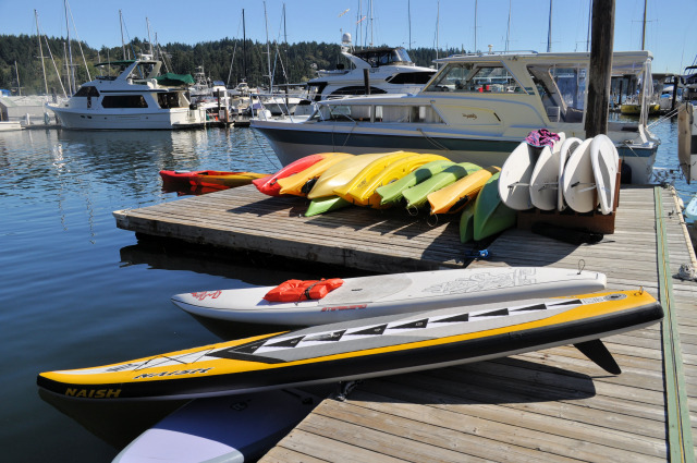 Lee's SUP in Gig Harbor.