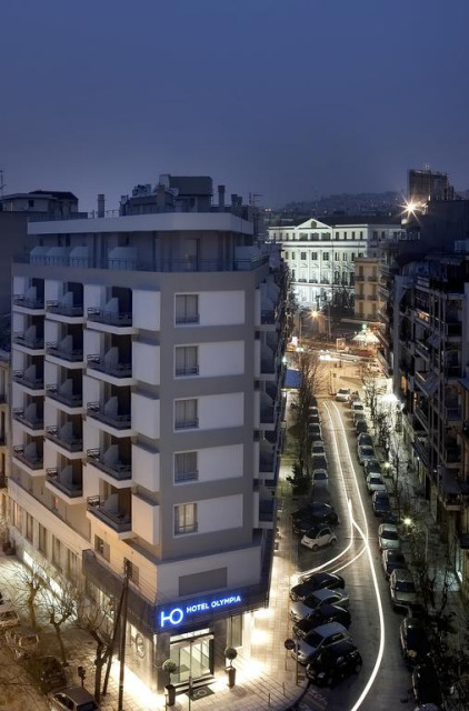 The Hotel Olympia in Thessaloniki Greece.