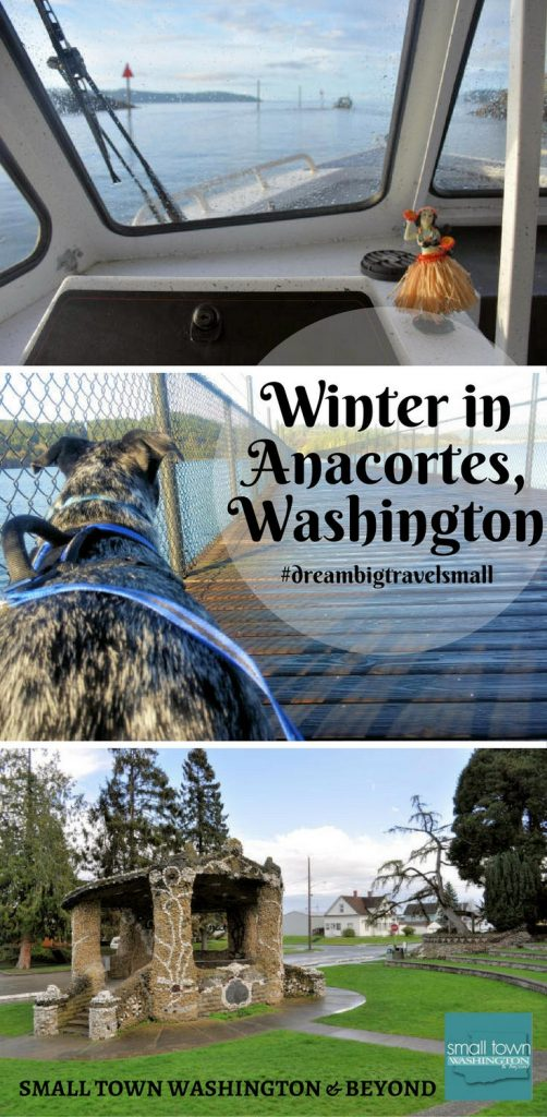 Winter in Anacortes, Washington.