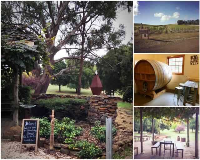 Wineries in Launceston, Tasmania.